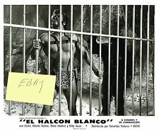 TARZAN EL HALCON BLANCO 1969 NEW! MOVIE PHOTO #2 BURROUGHS STEVE HAWKES BEEFCAK