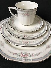 Noritake Rothschild  5-PIECE PLACE SETTING.   Mint Cond!  Never Used! (8 Avail).