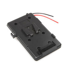 Battery Back Pack Plate Adapter for Sony V-shoe V-Mount V-Lock Battery External