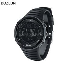 BOZLUN Watches Hiking Altimeter Barometer Thermometer Compass Sports Watch W3N3