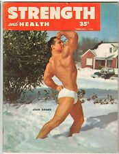 Strength & Health Bodybuilding Weightlifting Magazine/John Grimek 2-56