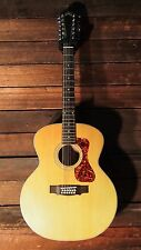 Guild F-2512E Maple 12 String Acoustic Electric Guitar F2512E w/ Free Gigbag