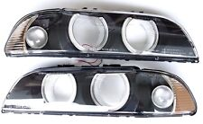 BMW 5 1996-1999 E39 Angel Eye headlight lenses LEFT+ RIGHT *****