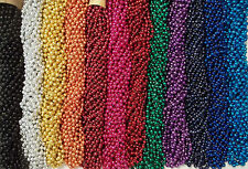 72 Choice Mardi Gras Beads Birthday Wedding Carnival Party Favor Necklaces 6 Doz