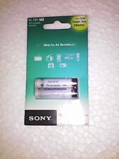 SONY Rechargeable AAA Batteries NH-AAA-B2 (1100 mAh) + (free shiping)