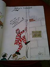 Signed Org. Political Art 70s80s-90s Los Angeles jail Escape and Osha (graphic)