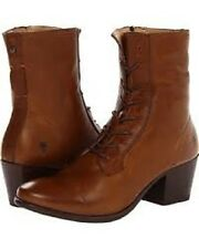 New in Box Womens FRYE Courtney Lace-up Boots Cognac  Size 11 MSRP $ 298