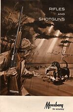 1965 MOSSBERG RIFLE & SHOTGUN GUN CATALOG BROCHURE