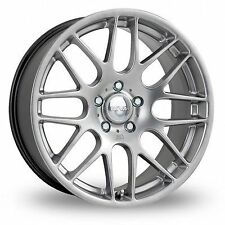 "19""riva dtm hyper silver ALLOY WHEELS BMW 3 SERIES vw t5 csl wider rear"