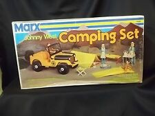 VINTAGE 1960s MARX JOHNNY WEST CAMPING SET MIB SEALED NEW #4560 RARE NIB