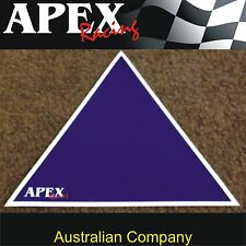 Battery Blue Location Triangle Sticker Decal - CAMS Approved Sizing - Rally Race