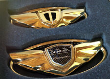Custom Wing Badge Emblems(Gold color), fits Genesis Coupe 2010~2016