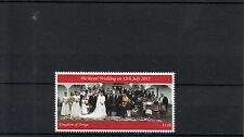 Tonga 2012 MNH Royal Wedding 1v Set HRH Crown Prince Tupouto'a Ulukalala