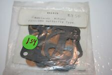 nos vintage snowmobile carburetor rebuild kit BN0 451425 mikuni butterfly