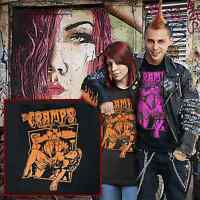 the cramps t.shirt cramps psychobilly punk rock garage punk CBGB's stooges iggy