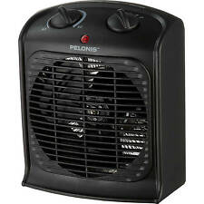 Portable Space Heater Electric Hot Room Office Desk Thermostat Small Fan Heeatin