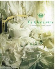 Publicité Advertising 1988 Le Linge de Lit et Vetements la Chatelaine