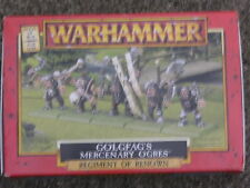 "WARHAMMER DOGS OF WAR,REGIMENT OF RENOWN,  ""GOLGFAG's MERCENARY OGRES"""