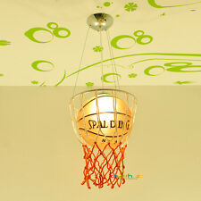 Modern Basketball Ceiling Light Pendant Lamp Chandelier Kid's Bedroom Lighting