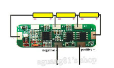 4A-5A PCB BMS Protection Board para 3 Packs 18650 Li-ion lithium Battery Cell 3S