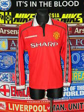 4/5 Manchester United adults XL 1998 football shirt jersey trikot soccer