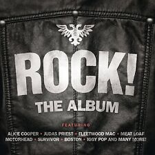 VARIOUS - ROCK! THE ALBUM:  3CD ALBUM SET (June 1st 2015)