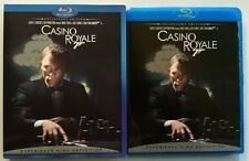 JAMES BOND 007 CASINO ROYALE BLU RAY COLLECTORS EDITION + RARE OOP SLIPCOVER