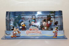 Disney Mickey Mouse Christmas Carol Play Set Figurines Cake Toppers