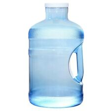 5 Gallon BPA Free Wide Big Mouth Drinking Water Bottle Jug Canteen Container USA