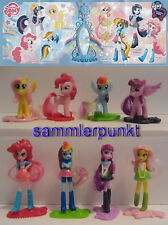 Komplettsatz MY LITTLE PONY & EQUESTRIA GIRLS + 8 BPZ