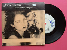 Gloria Estefan - Don't Wanna Lose You / Words Get In The Way (Live) Epic 6550540
