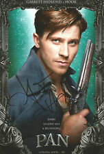 Garrett Hedlund Signed PAN 12x8 Photo AFTAL OnlineCOA PETER PAN
