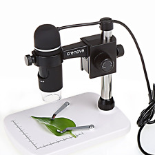 Crenova Digital USB Microscope - 5MP 20X-300X Magnifier for Windows or Mac