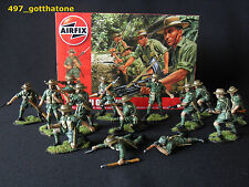 airfix 1/32 painted Gurkhas x 14 WW2. professionally painted. 54mm