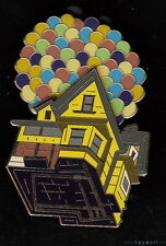 RARE Disney Shopping CARL'S FLYING HOUSE WITH BALLOONS Pixar Up LE 100 Pin