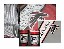 Atlanta Falcons Party Pack - 20 Paper Cups, Plates, Napkins and Plastic Forks