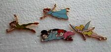 *~*DISNEY PETER PAN BOOSTER COLLECTION COMPLETE 4 PIN SET PIN*~*
