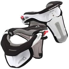 LEATT GPX TRAIL MX ATV OFFROAD NECK BRACE SUPPORT WHITE S/M 1000230005