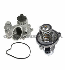 WATER PUMP + THERMOSTAT ASSEMBLY for BMW E53 E60 E63 E64 E65 E66 545i X5 SET 2