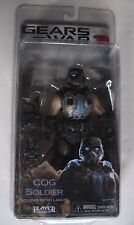 NEW Vintage MOC COG SOLDIER Gears of War 3 SEALED Figure w/Retro Lancer NECA