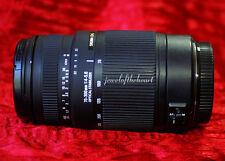 Exc Sigma 70-300mm DG OS Lens for Canon T1i T2i T3i T4i XS 20D 30D 40D 50D 60D +
