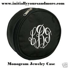 Monogram Jewelry Case choose from Chevron, Black, Hot Pink or Lime Green