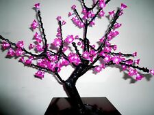 "31.5"" LED Christmas Light Cherry Blossom Tree Holiday Home Decor 200 LEDs Pink"