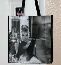 AUDREY HEPBURN Breakfast at Tiffanys HOLLYWOOD Movie SHOPPERS TOTE GIFT BAG New