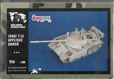 1/35 Verlinden Products #714 - Iraqi T-55 Applique Armor SuperTech Resin Update