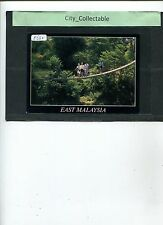 P632 # MALAYSIA USED PICTURE POST CARD *SUSPENSION BRIDGE OF EAST MALAYSIA SABAH