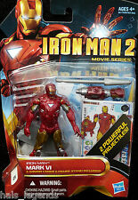 MARVEL IRON MAN 2 MARK VI Variant. no.10 Film Serie Nuovo! RARO! Avengers