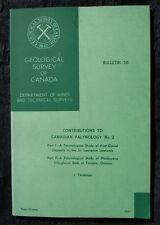 Geological Survey of Canada Bulletin 56, Contributions to Canadian Palynology #2