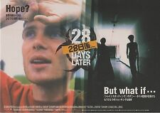 28 Days Later - Original Japanese Chirashi Mini Poster - Danny Boyle