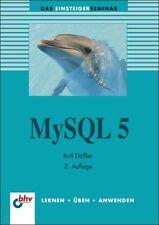 Mysql 5 von Rolf Dässler (2013, Taschenbuch), neu